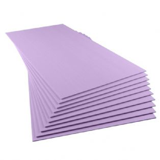 10mm thick Premium XPS Insulation Sheet - select your exact quantity